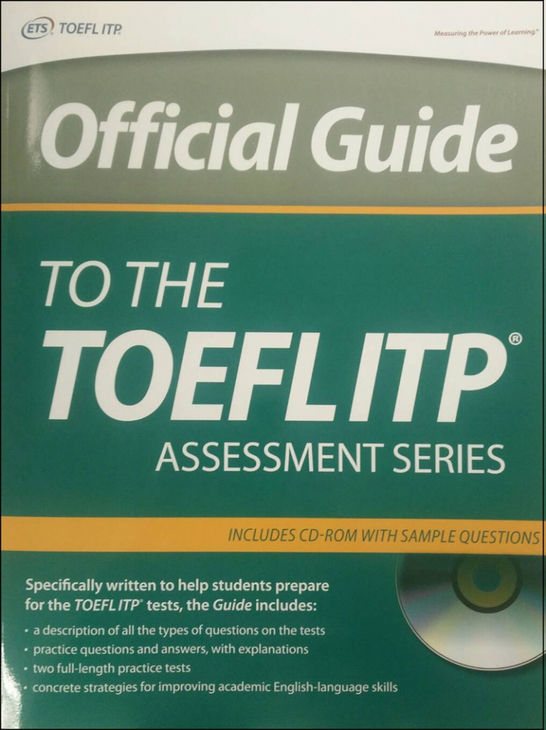 Ets Official Guide To The Toefl Itp Test Cd - Review Harga